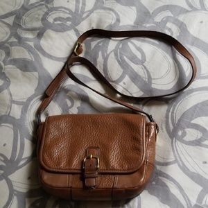 Coach small cognac crossbody